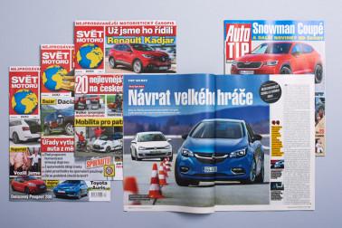 Časopisy Svět motorů a Auto TIP