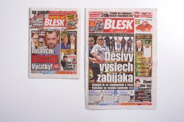 Zeitschrift BLESK